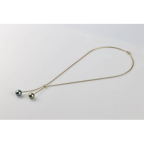 18k gold necklace from the...