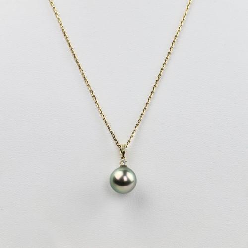 Diamond pendant with a...