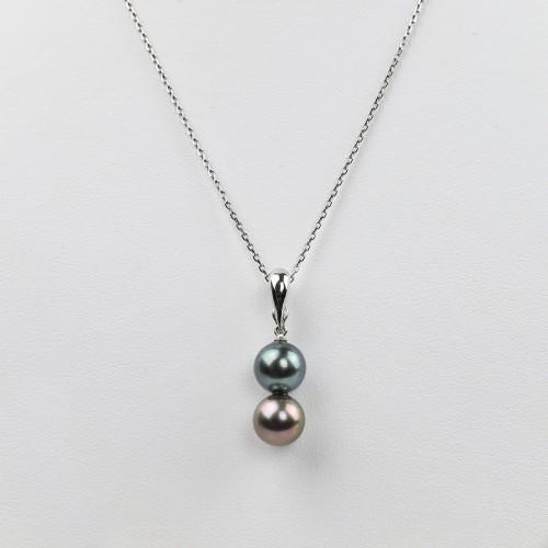 « You & me » clasp pendant...