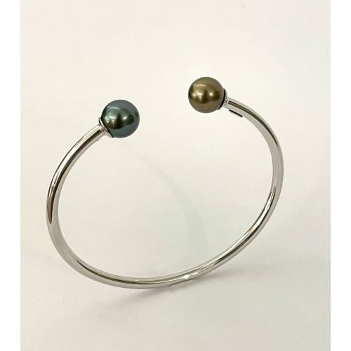 """Bracelet """"Toi & Moi"""" argent..."""